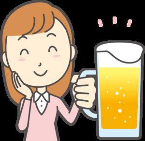 ビール女子